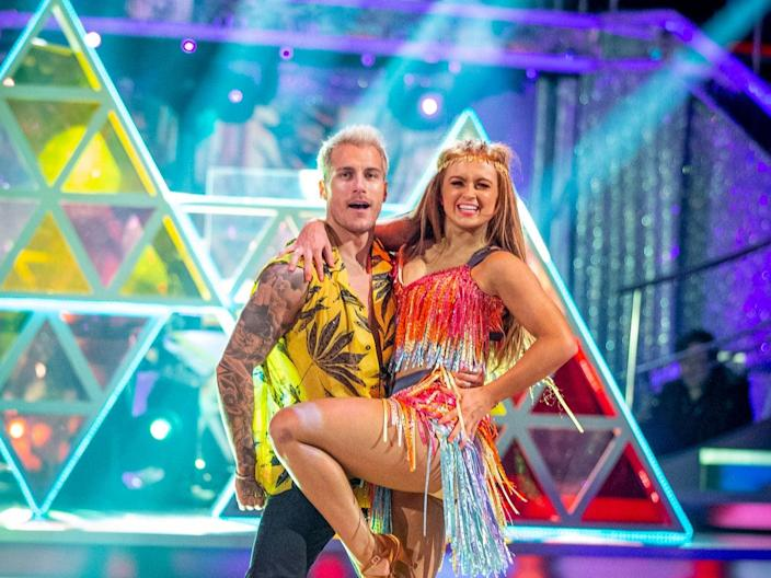 <p>Maisie Smith and Gorka Marquez on 'Strictly Come Dancing'</p> (BBC/Guy Levy)