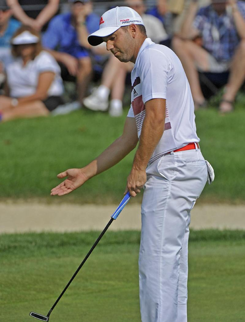 Garcia stretches his lead at Firestone
