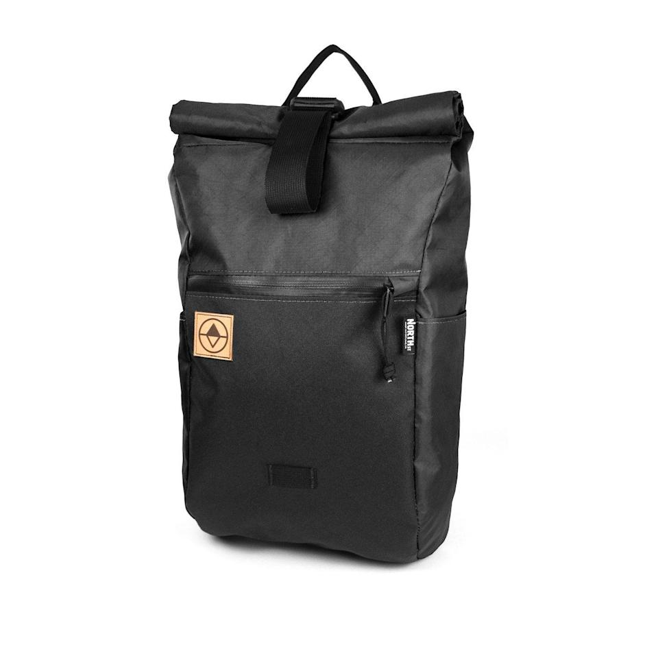 """<p><strong>North St. Bags</strong></p><p>huckberry.com</p><p><strong>$140.00</strong></p><p><a href=""""https://go.redirectingat.com?id=74968X1596630&url=https%3A%2F%2Fhuckberry.com%2Fstore%2Fnorth-st-bags%2Fcategory%2Fp%2F71412-davis-daypack-epx&sref=https%3A%2F%2Fwww.esquire.com%2Flifestyle%2Fg23013003%2Fbest-gifts-for-husband-ideas%2F"""" rel=""""nofollow noopener"""" target=""""_blank"""" data-ylk=""""slk:Buy"""" class=""""link rapid-noclick-resp"""">Buy</a></p><p>When your husband rejoins the commuter wave, he'll want the right bag. North St. makes its daypack with sustainability in mind, as well as durability and water resistance. Besides that, the company donates a portion of profits to environmental groups. </p>"""
