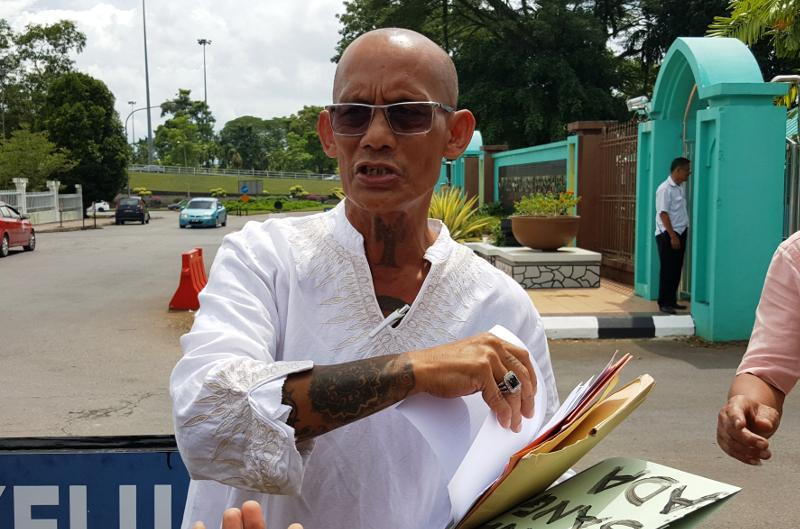 Human rights activist Peter John Jaban says the Sarawak and federal governments should review all policies and directives relating to religious freedom and ensure they are in line with the Malaysian Constitution. — Picture by Sulok Tawie