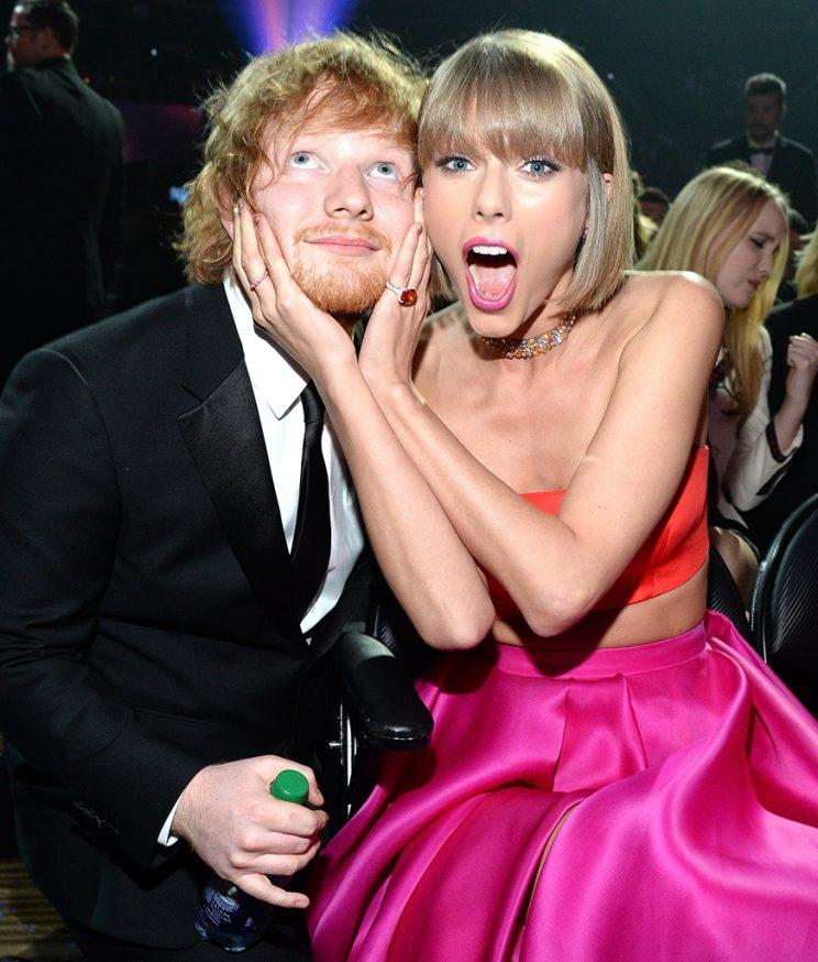 Is ed sheeran dating taylor swift yahoo