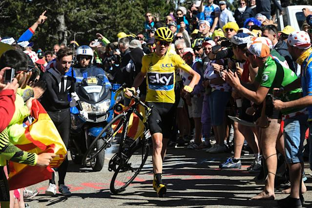 <p>The Team Sky rider is now second in the all-time list after completing his third successive Tour de France victory and fourth in five years, beating Rigoberto Uran by 54 seconds. He followed that up by becoming the first British rider to win La Vuelta, the third man to successfully complete the Tour-Vuelta double in the same year. </p>
