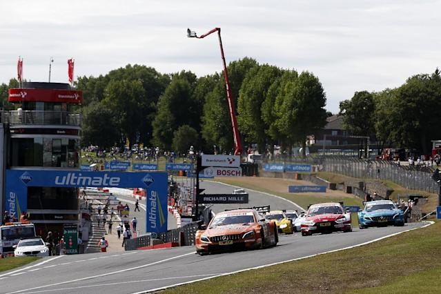 DTM announces calendar and W Series support