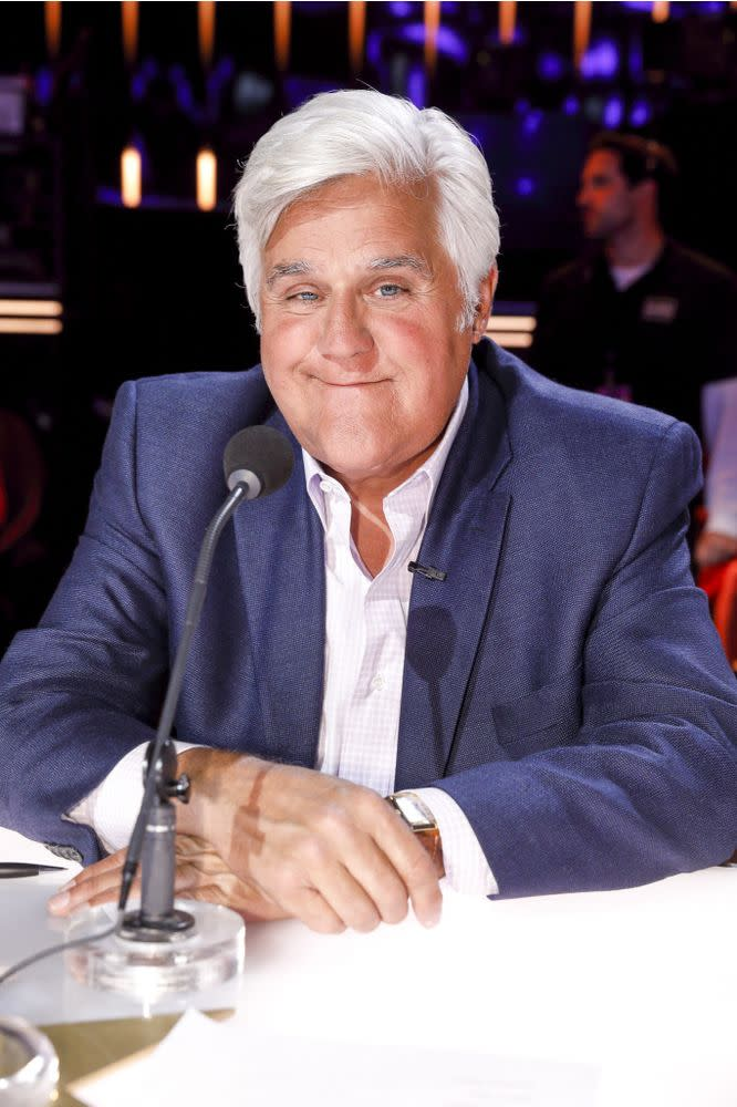 Jay Leno on AGT | Trae Patton/NBC