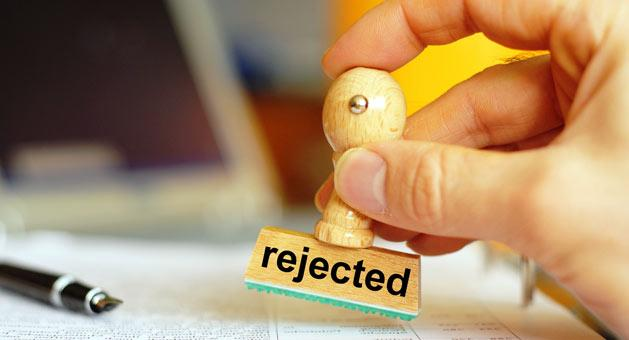 Claim rejected