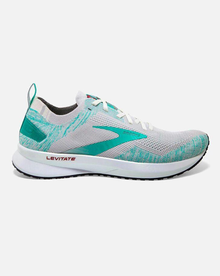 """<p><strong>Which style? </strong>Levitate 3</p><p><strong>How much?</strong> £140</p><p><a class=""""link rapid-noclick-resp"""" href=""""https://go.redirectingat.com?id=127X1599956&url=https%3A%2F%2Fwww.brooksrunning.com%2Fen_gb%2Flevitate-4-womens-running-shoes%2F120335.html&sref=https%3A%2F%2Fwww.womenshealthmag.com%2Fuk%2Ffitness%2Fg28619284%2Fvegan-trainers%2F"""" rel=""""nofollow noopener"""" target=""""_blank"""" data-ylk=""""slk:SHOP NOW"""">SHOP NOW</a></p><p>Brooks' calls these shoes Levitate because they feel like running on air. Don't believe it? Just read the 367 reviews. All of the brand's current designs are vegan unless made from leather – just look out for 'LE' when browsing.</p>"""