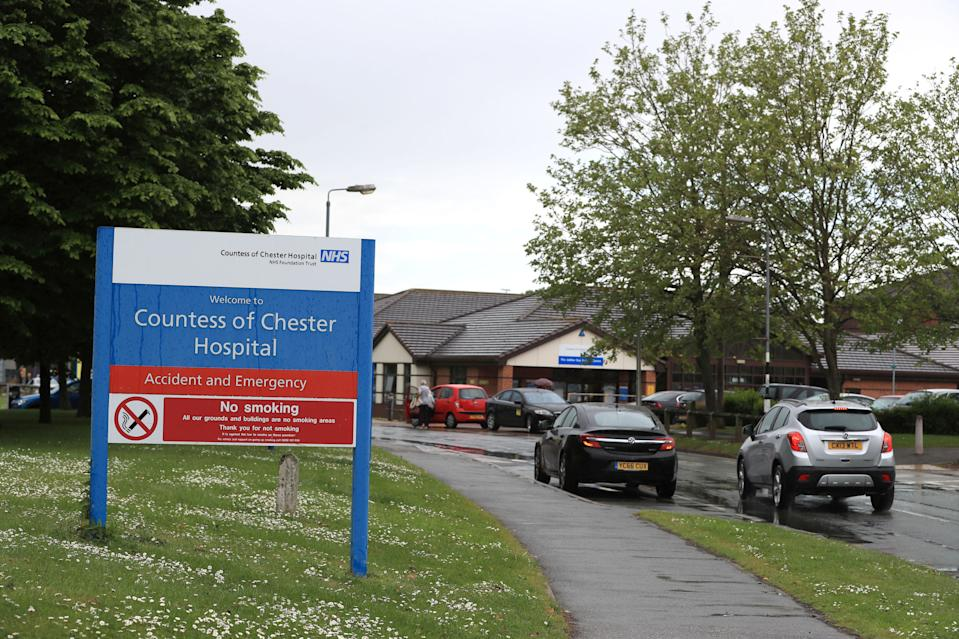 Countess of Chester Hospital in Chester. Source: AAP