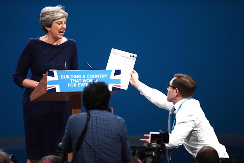 Theresa May is protected by the same pool of officers (Carl Court/Getty Images)
