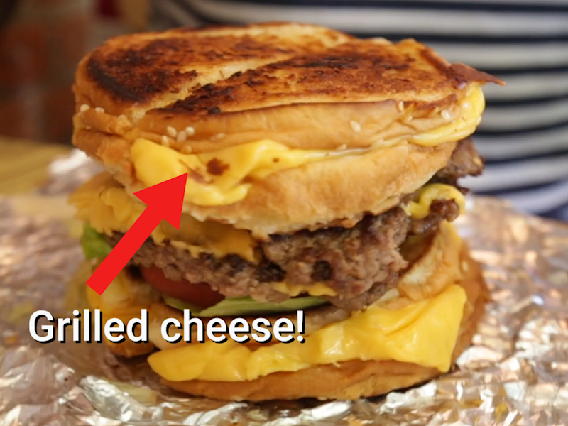 We tried the 'Five Guys' secret menu