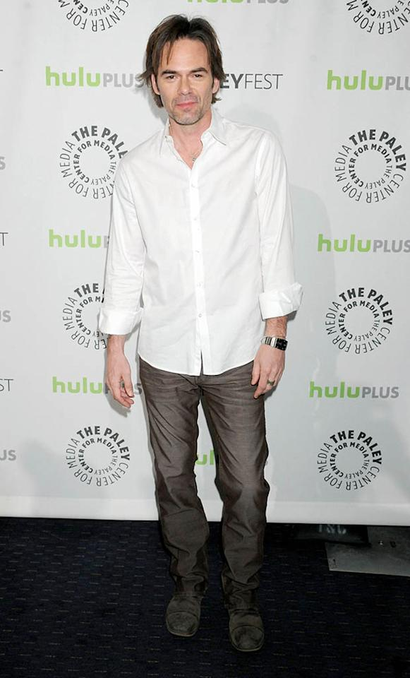 """Billy Burke attends the 30th annual PaleyFest featuring the cast of """"Revolution"""" at the Saban Theatre on March 2, 2013 in Beverly Hills, California."""