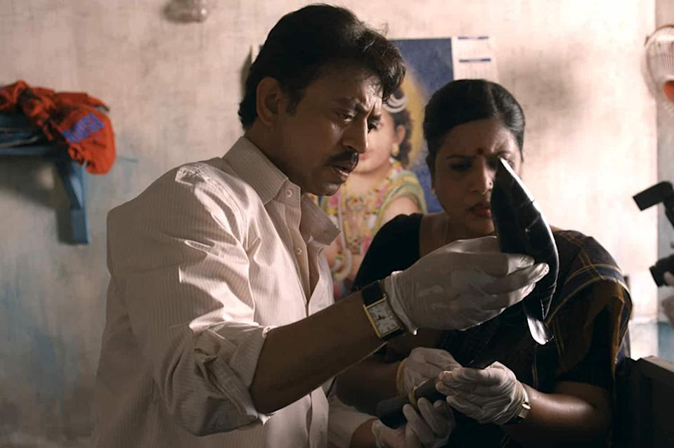 """Irrfan played the fictionalised role of CBI investigator Arun Kumar, bringing dry wit and gravitas to the central role in the film based on the horrific Aarushi-Hemraj murder of 2008. """"I felt it was an important story to share with the audience. It was not the role which attracted me,"""" he said about the role."""
