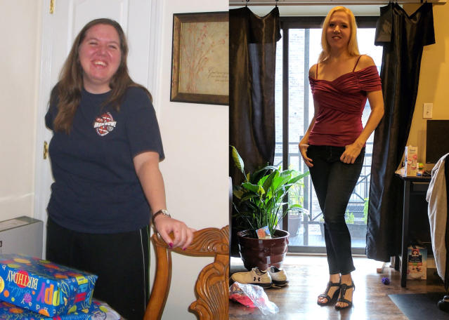 Heather Wright exceeded her weight loss goals in the first year. (Photos: courtesy of Heather Wright)
