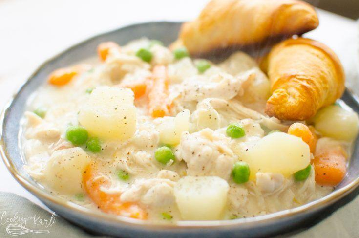 """<p>There's probably nothing like your grandma's recipe for chicken pot pie—and for good reason. It probably takes a million years to make! You can add this much tasty and <em>much faster</em> one-pot chicken pot pie to your weekly dinner routine and save Grandma's for special occasions. <strong><br></strong></p><p><strong>Get the recipe at <a href=""""https://cookingwithkarli.com/instant-pot-chicken-pot-pie/"""" target=""""_blank"""">Cooking With Karli</a>. </strong> <br></p>"""
