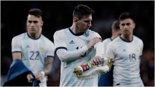 Morocco had agreed to play Argentina's strongest team this week, so the FRMF was disappointed to learn of the superstar's injury