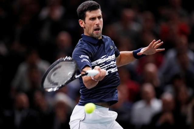 FILE PHOTO - ATP 1000 - Paris Masters