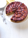 """<p>Crispy cornmeal and fresh orange add texture and complexity to this sweet summery cake.</p><p><em><a href=""""https://www.goodhousekeeping.com/food-recipes/a15313/sticky-plum-upside-down-cake-recipe-wdy0813/"""" rel=""""nofollow noopener"""" target=""""_blank"""" data-ylk=""""slk:Get the recipe for Sticky Plum Upside-Down Cake »"""" class=""""link rapid-noclick-resp"""">Get the recipe for Sticky Plum Upside-Down Cake »</a></em></p>"""