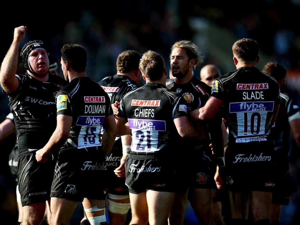 Exeter ran in five tries against struggling Bristol: Getty