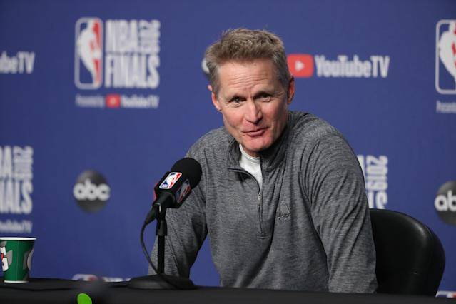 "Nick ""Swaggy P"" Young revealed Steve Kerr's hidden talent on The Damon Bruce Show on Thursday."