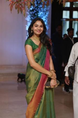 andrea jeremiah at soundarya rajinikanth Vishagan Vanangamudi's wedding