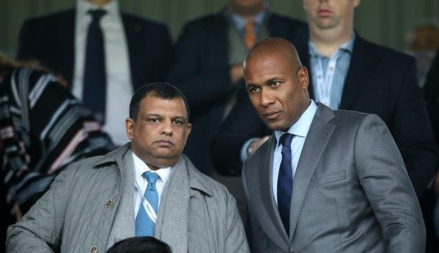 Les Ferdinand (right) is focused on his role at QPR