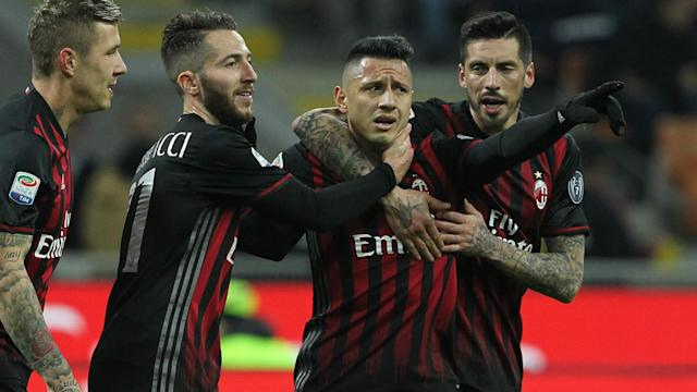 The Rossoneri may need to win another seven Serie A matches to be sure of European qualification, according to the coach