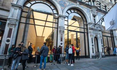 The iPhone 8 launch in London was... muted
