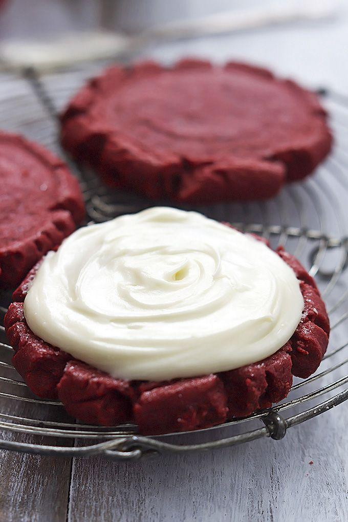 "<p><span>They're so thick and chewy, you might even like them better than cupcakes. Just saying.</span></p><p><span>Get the recipe from</span> <a href=""http://lecremedelacrumb.com/2015/01/red-velvet-sugar-cookies.html"" rel=""nofollow noopener"" target=""_blank"" data-ylk=""slk:Creme de la Crumb"" class=""link rapid-noclick-resp"">Creme de la Crumb</a><span>.</span></p>"