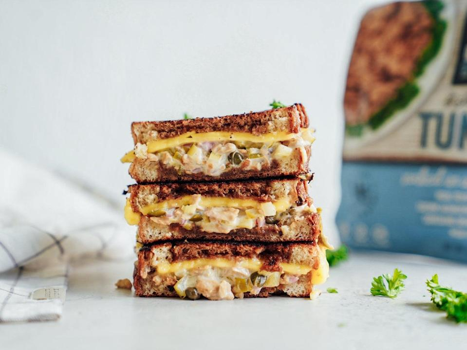 Maria Koutsogiannis promises this vegan melt will change your life. (Good Catch Tuna)