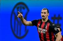 Zlatan Ibrahimovic scored a brace as AC Milan beat Inter in the derby