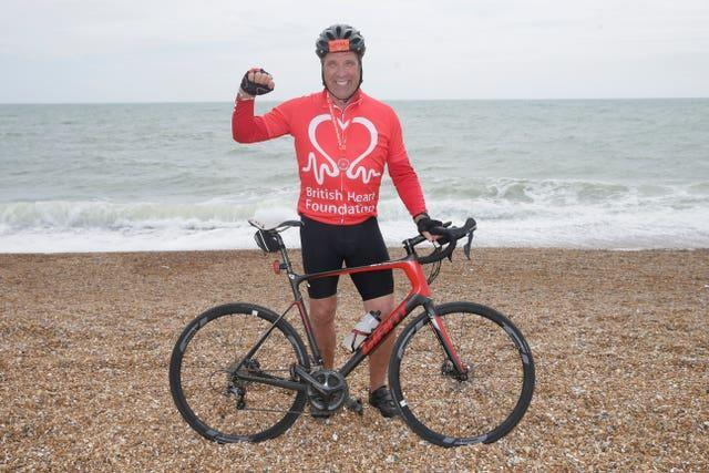David Seaman has done a number of things since retiring including a London to Brighton bike ride for the British Heart Foundation