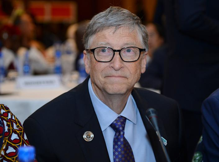 Bill Gates had initially played down ties with  controversial financier and sex offender Jeffrey Epstein  (AP)
