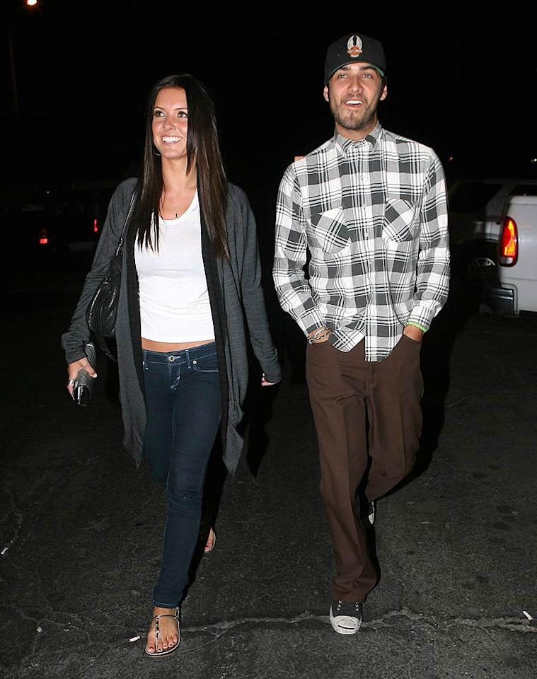 """Did Audrina lose her AmEx? It looks like the reality TV """"star"""" and her bearded boy toy Justin Bobby went clothes shopping at the Salvation Army ... not Saks Fifth Avenue. JM/<a href=""""http://www.x17online.com"""" target=""""new"""">X17 Online</a> - July 8, 2008"""