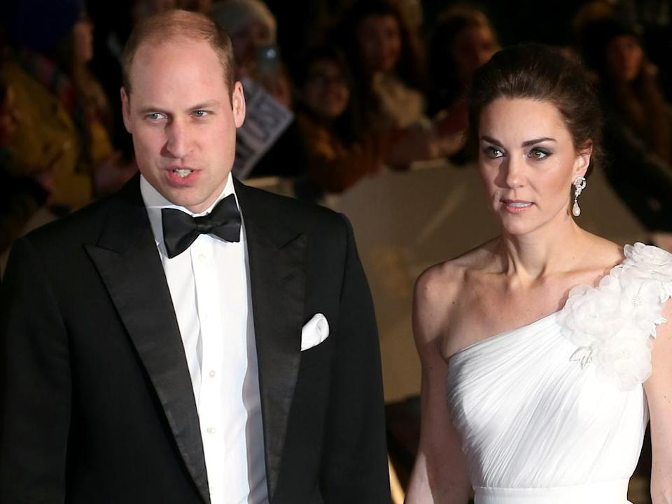 Prinz William und Herzogin Kate bei den BAFTA Awards 2019 in der Royal Albert Hall in London (Bild: Cubankite/shutterstock.com)