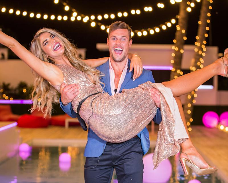 A photo of Anna McEvoy and Josh Packham who won Love Island Australia season two.