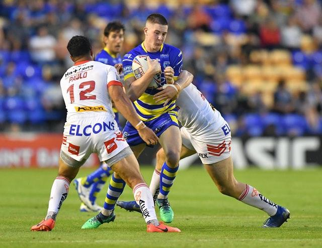 Warrington's Riley Dean has also been fined and banned