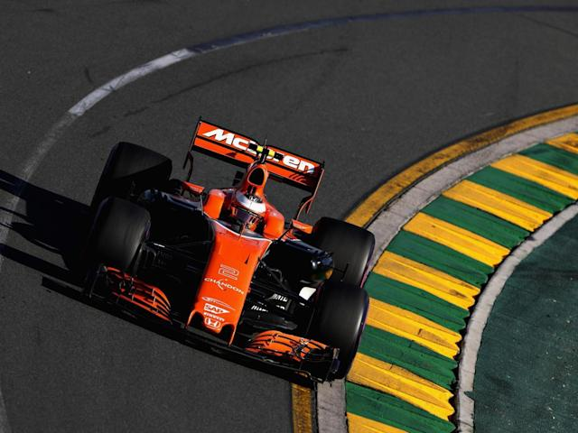 Fellow McLaren driver Vandoorne finished last (Getty)