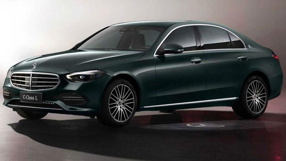 Mercedes-Benz C-Class LWB breaks cover at Shanghai Auto Show