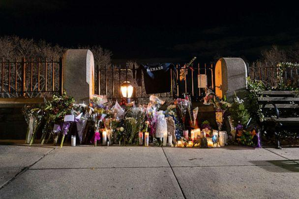 PHOTO: A temporary memorial erected at the sight of the candle guard held to commemorate the murdered Barnard College student Tessa Majors, December 15, 2019 in New York.  (David Dee Delgado / Getty Images, FIL)