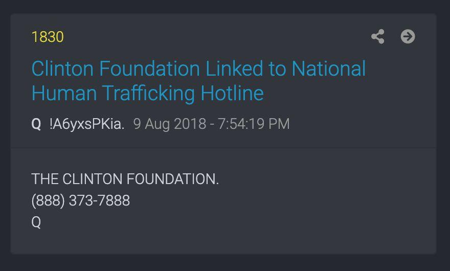 QAnon has inserted anti-trafficking organizations into its conspiracy theories. (Photo: )
