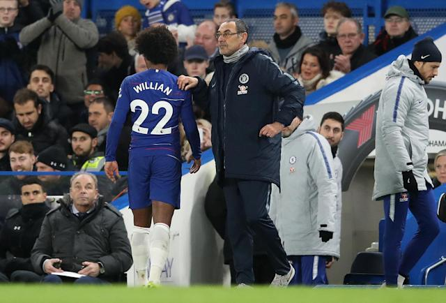 Cesc Fabregas could have played his last league game for the Blues in the goalless draw against Southampton.