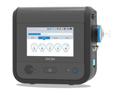 VOCSN therapy screen.