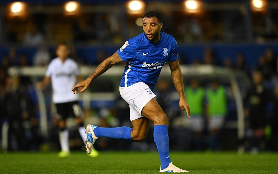 Troy Deeney in action on his debut for Birmingham - GETTY IMAGES EUROPE