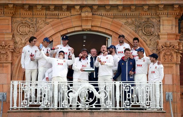 Essex celebrate after winning the Bob Willis Trophy Final at Lord's