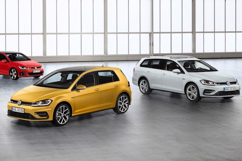 Volkswagen's best-selling Golf hatchback gets a face-lift