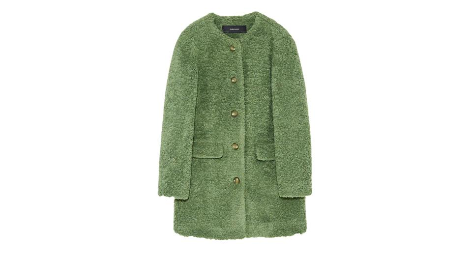 """<p>Keep toasty in this 60s inspired faux fur coat. Perfect for pairing with sunglasses and cropped trousers on a chilly-yet-sunny winter morning. <a rel=""""nofollow noopener"""" href=""""https://www.zara.com/uk/en/woman-outerwear-l1184.html?v1=367501"""" target=""""_blank"""" data-ylk=""""slk:Buy here."""" class=""""link rapid-noclick-resp""""><em>Buy here. </em></a> </p>"""