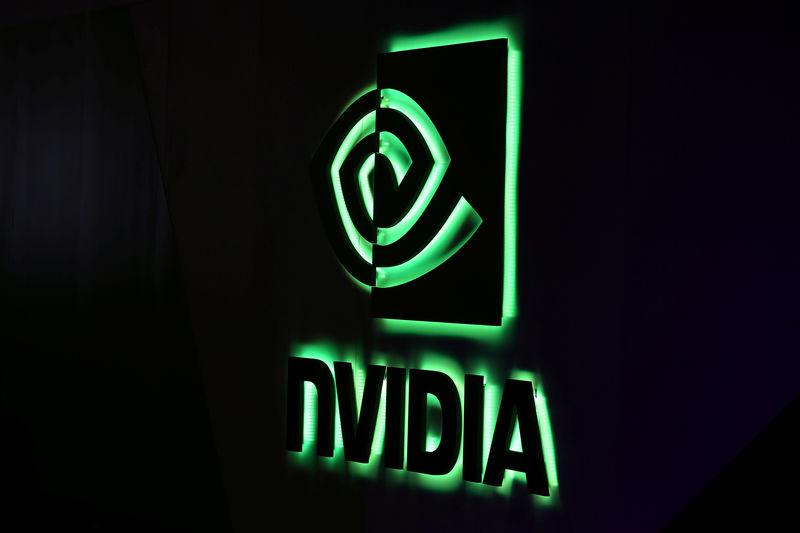 NVIDIA logo shown at SIGGRAPH 2017