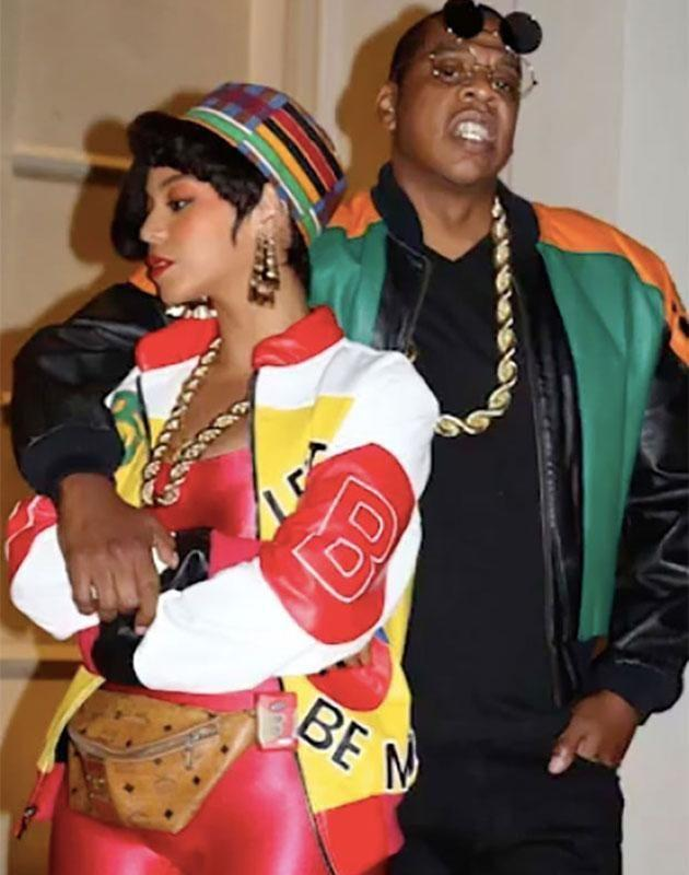 Jay Z was dressed as Dwayne Wayne from the show A Different World. Source: Instagram