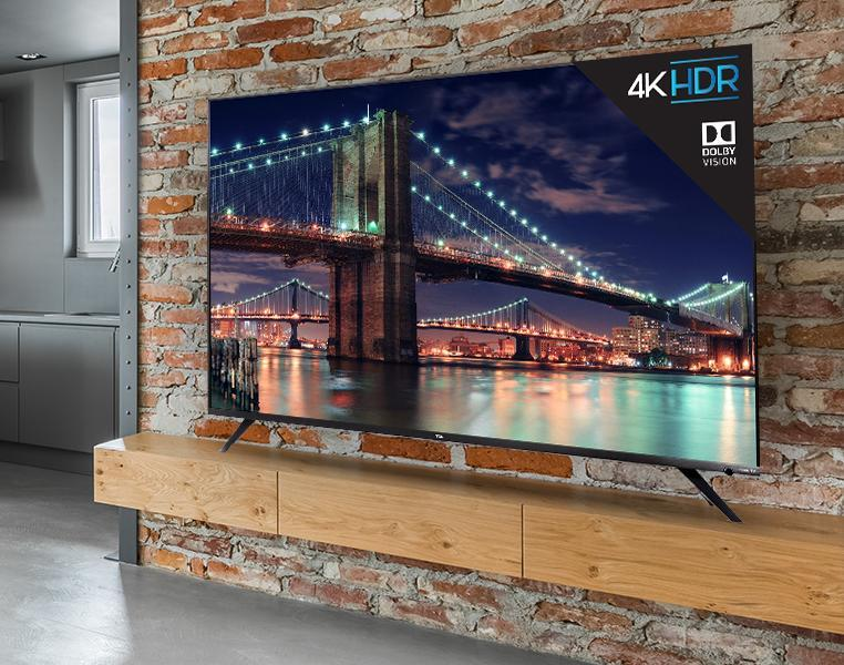 Get this TCL 55-inch 4K Ultra HD Roku Smart LED TV (55R617) for 44 percent off. (Photo: TCL)