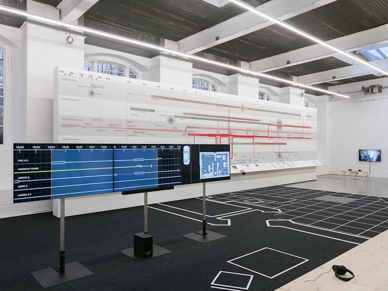 Counter Investigations: Forensic Architecture at the Institute of Contemporary Arts (Mark Blower)