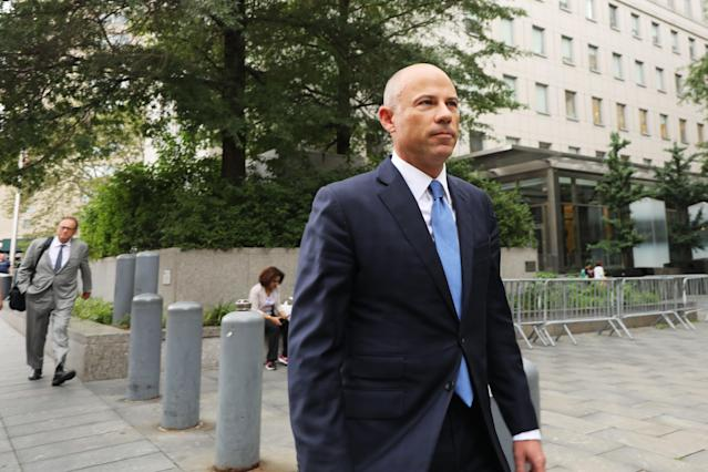 Lawyer Michael Avenatti was found guilty of trying to extort Nike of millions of dollars. (Photo by Spencer Platt/Getty Images)